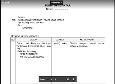 Contoh Surat Pengantar Dinas - Contoh Surat Pengantar Proposal - Contoh Surat Pengantar Barang - Contoh Surat Pengantar Dokumen