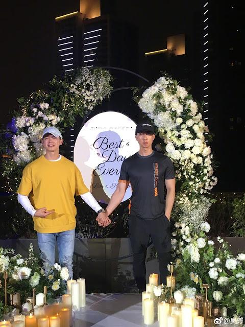 Fahrenheit Wu Chun Calvin Chen married