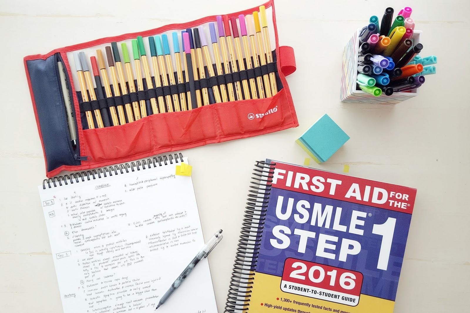 MY STEP 1 STUDY PLAN