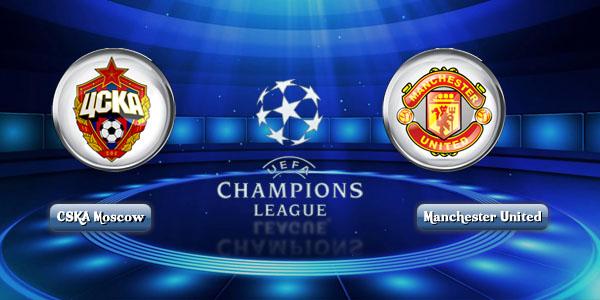 CSKA Moskow vs Manchester United