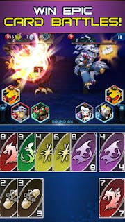 Game Digimon Heroes v1.0.45 Apk Mod + Data OBB Update terbaru Gratis