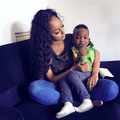 Ice Prince Zamani Wife and Son