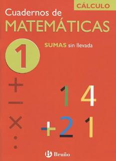 Cuadernos de Matemáticas 1 - Sumas sin llevadas