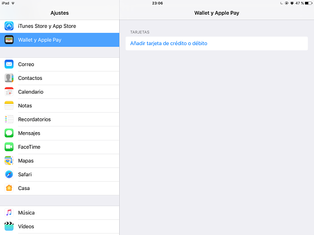 applepay-ajustes How to set up and use Apple Pay on your iPad Technology