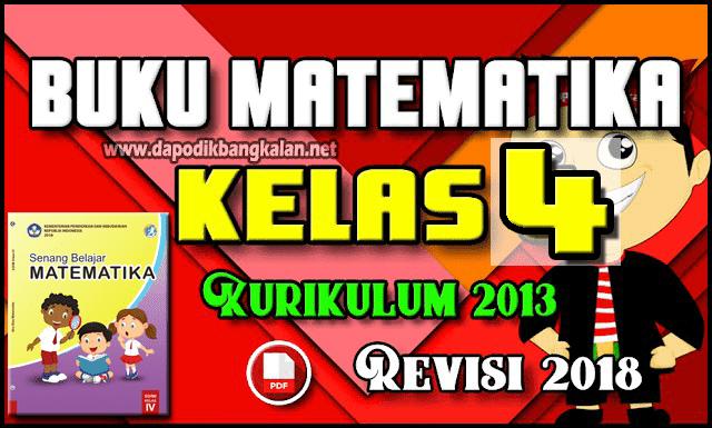 buku matematika kelas 4 K13 revisi 2018