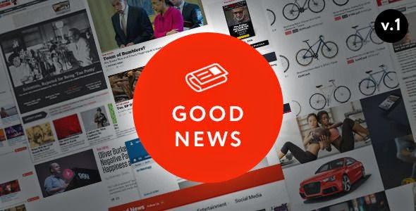 Responsive News and Magazine WordPress Theme 2015