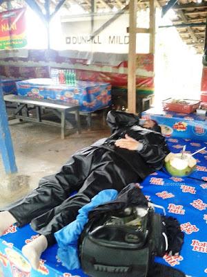 tepar abis touring ke Lampung