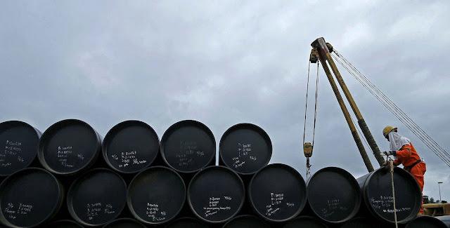 Petróleo baja luego del incremento de inventarios de EEUU