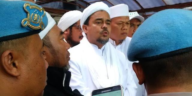 Aneh, Hanya Karena Kasus Chat, Polisi Ancam Minta Bantuan Interpol 198 Negara Untuk Memulangkan Habib Rizieq