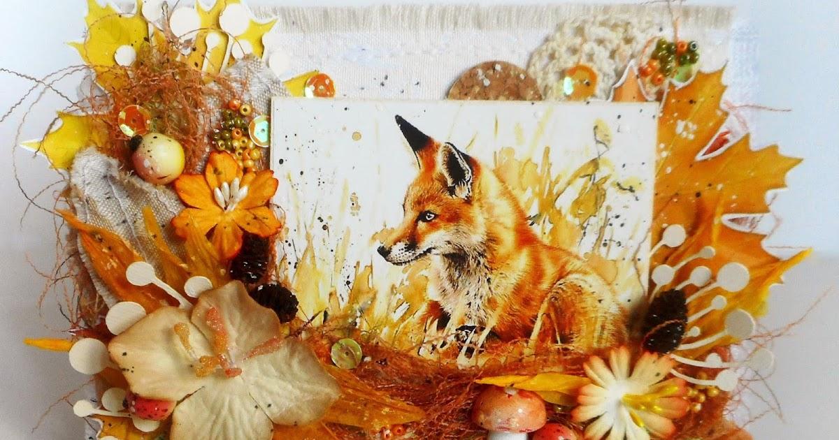 Днем рождения, открытка лисичка с днем рождения своими руками