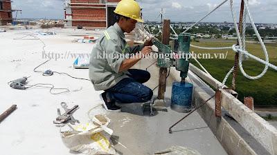 Khoan cắt bê tông tại huyện Trà Ôn
