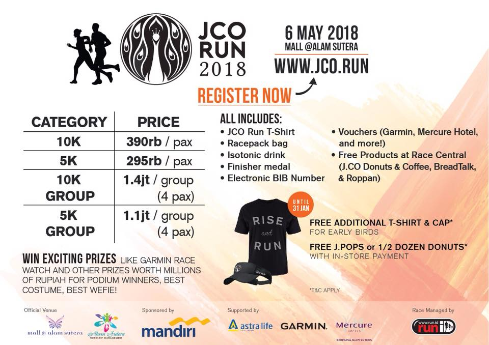 Jco Run • 2018