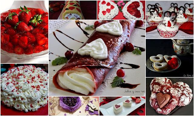 Dulces para san Valentín. Julia y sus recetas