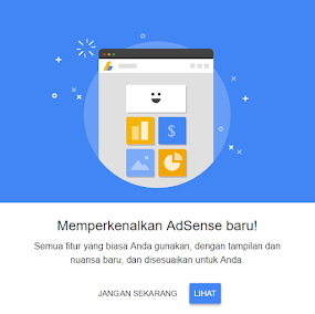 Google Adsense Rasa Baru