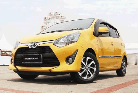 Kredit Mobil Toyota Agya 2018 Promo DP Murah Cicilan Ringan