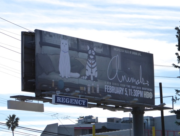 Animals series premiere Cats billboard