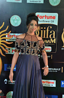 Sanjjanaa Galrani aka Archana Galrani in Maroon Gown beautiful Pics at IIFA Utsavam Awards 2017 01.JPG