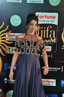 Sanjjanaa Galrani aka Archana Galrani in Maroon Gown beautiful Pics at IIFA Utsavam Awards 2017 01.JPG