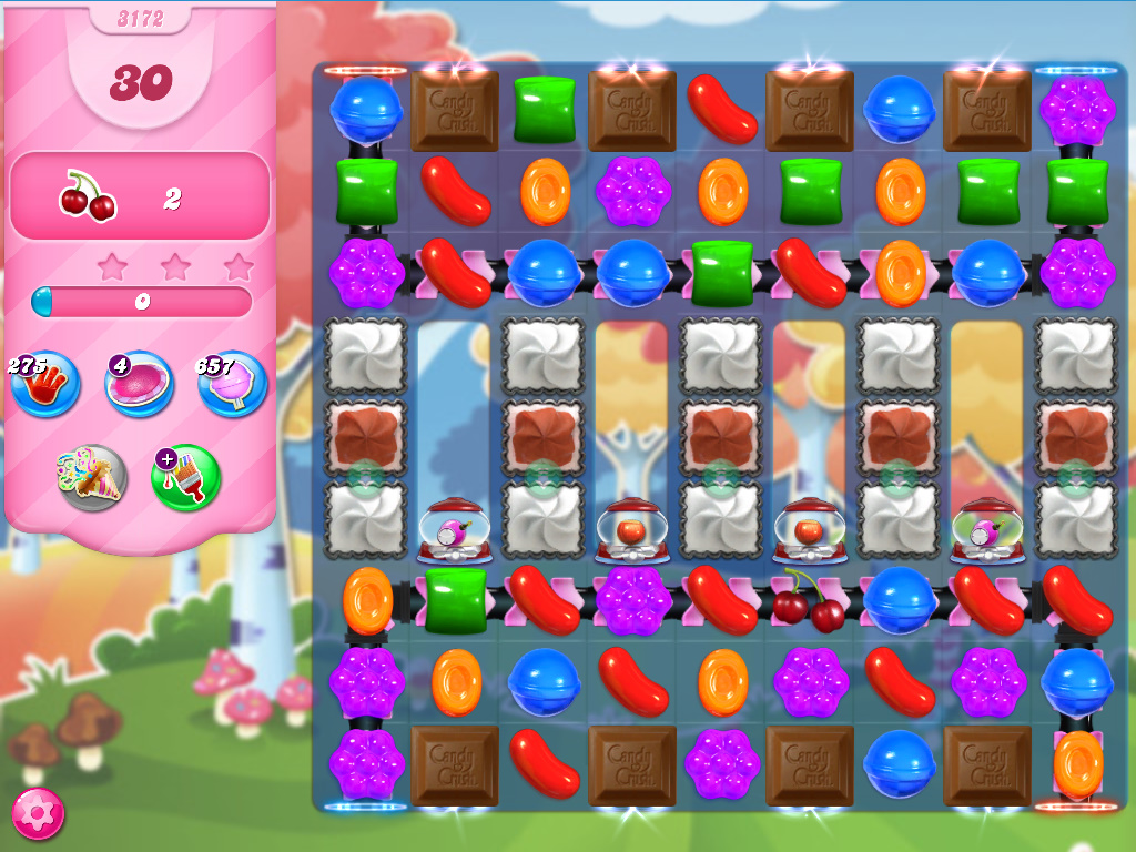 Candy Crush Saga level 3172