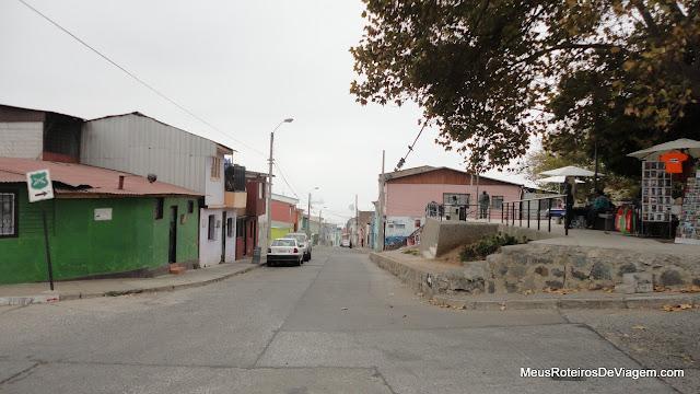 Rua Ricardo de Ferradi - Valparaíso, Chile