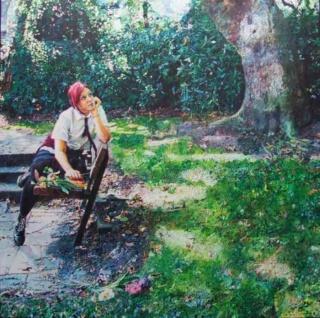 Британский художник. David Hancock