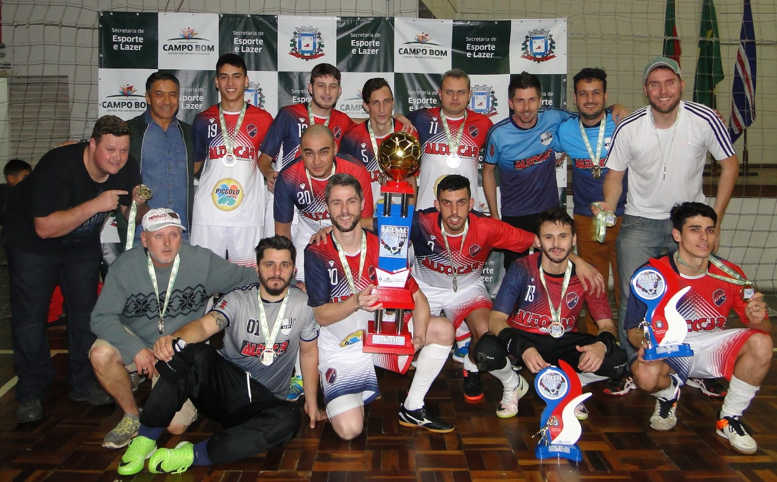 Esporte Campo Bom 2019  UPF é campeã do Futsal Série Prata 768c12f1a59ba