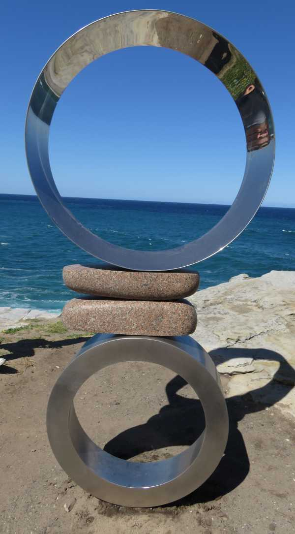 Mountains Air - Circles Sculpture by the Sea