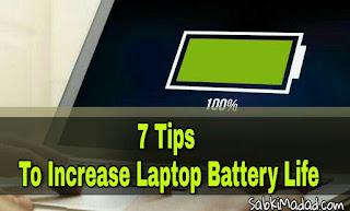 Laptop Ki Battery Life Kaise Badhaye  7 Tips