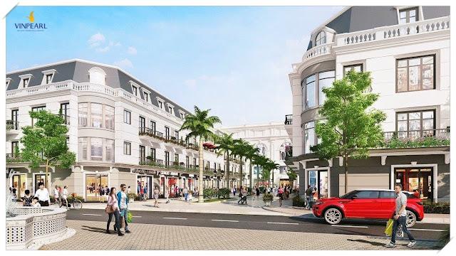 Khu nhà phố thương mại Shophouse Vinpearl Phú Quốc