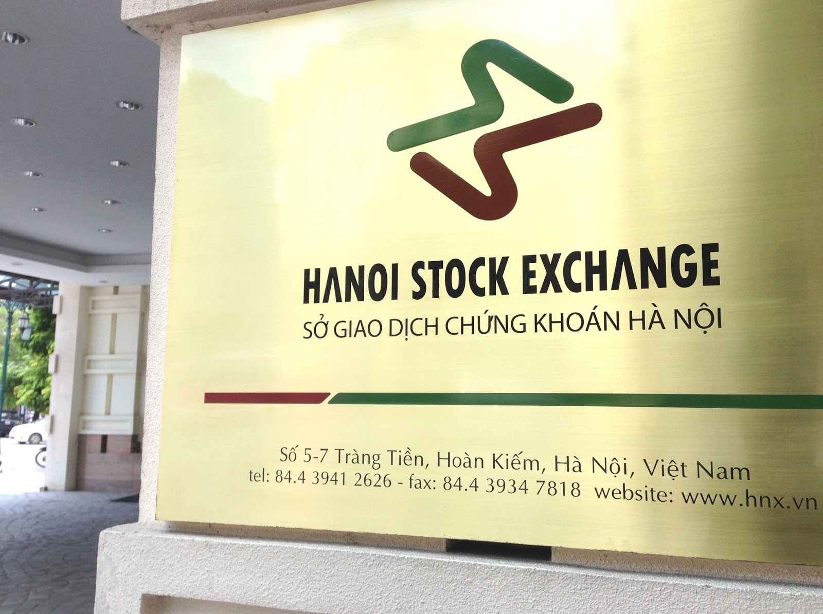 hanoi-stock-exchange ハノイ証券取引所