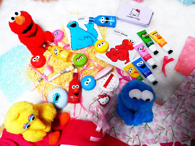 It's SKIN 10 th anniversary Sesame Street LIMITED EDITION :D