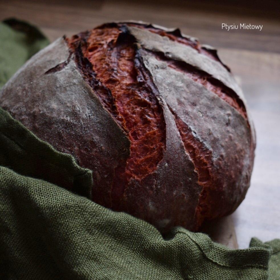 chleb, ptysiu mietowy