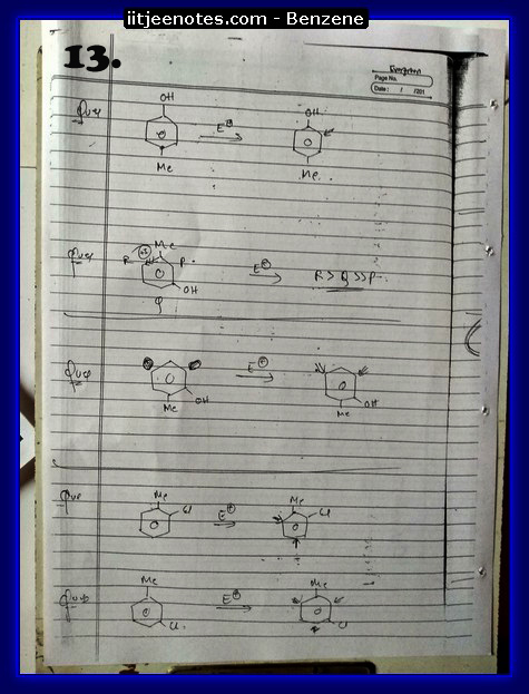 Benzene Notes-CHEMISTRY3