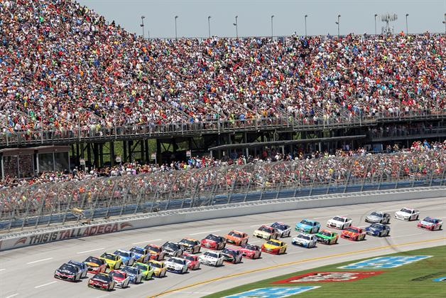 The Best Seat In The House Talladega Superspeedway