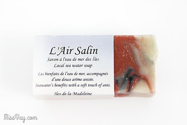 La Fille de la Mer savonnerie artisanale Îles-de-la-Madeleine