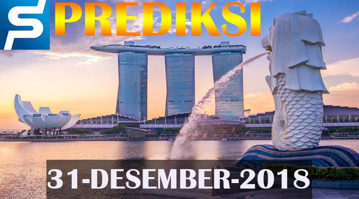 Prediksi Togel Singapore 31 Desember 2018 SGP Jitu