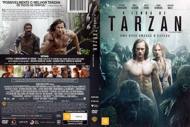 Capa DVD A Lenda de Tarzan