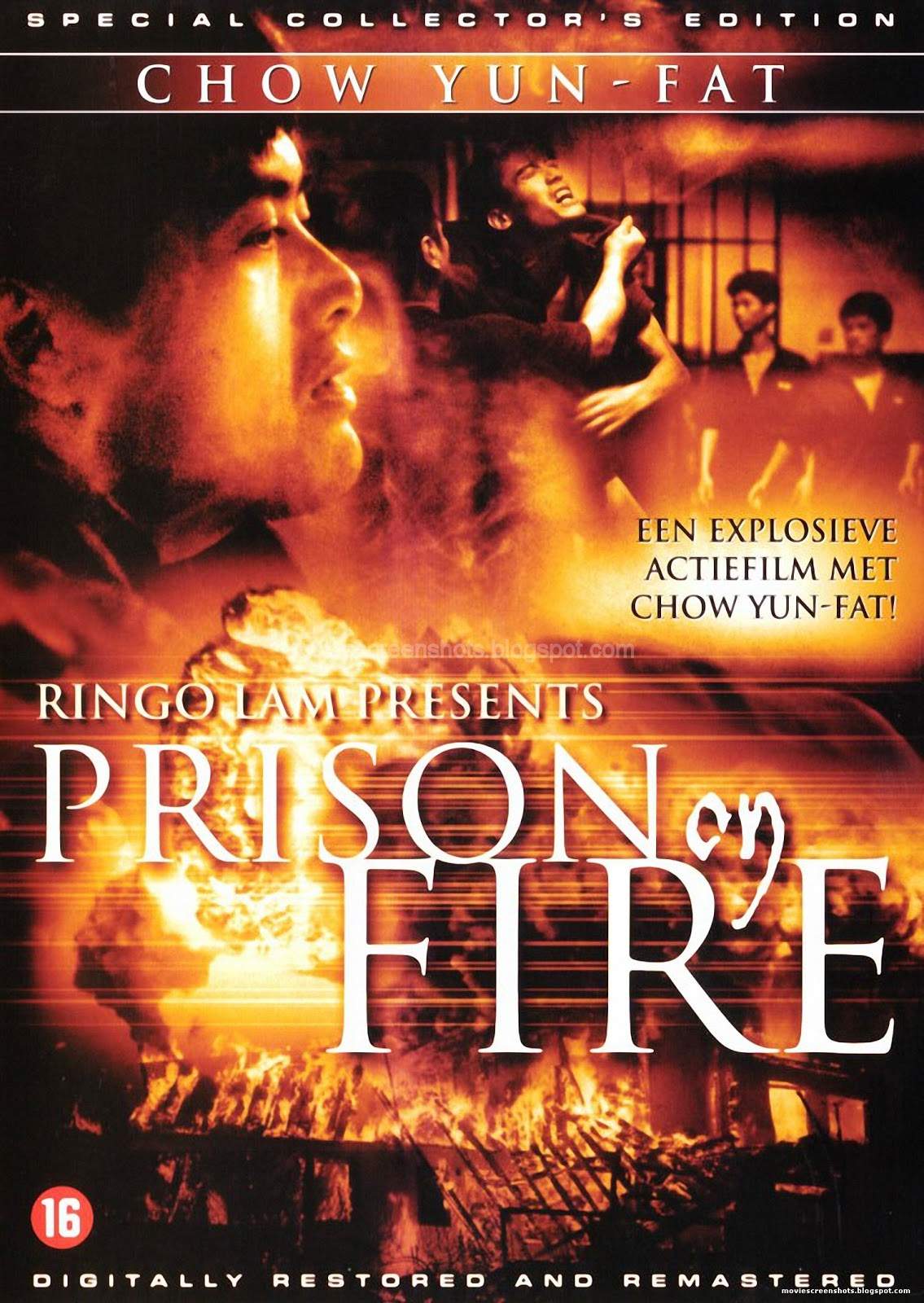 Vagebonds Movie ScreenShots Prison on Fire 1987