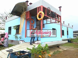 Rumah Nelayan Terbalik & Aquaria di MAHA 2016