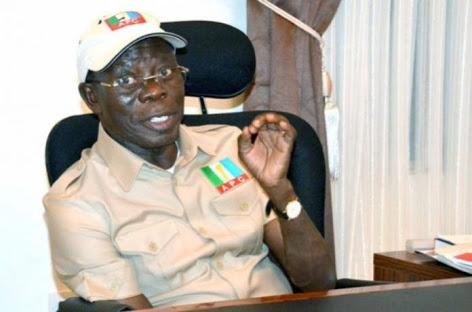 APC Crisis: Oshiomhole Battles Gov. Amosun