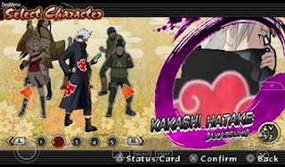 Texture Naruto Impact: Kakashi [Akatsuki] for PSP Android