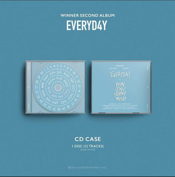 PRE-ORDER] WINNER 2nd ALBUM [EVERYD4Y] - YG Family