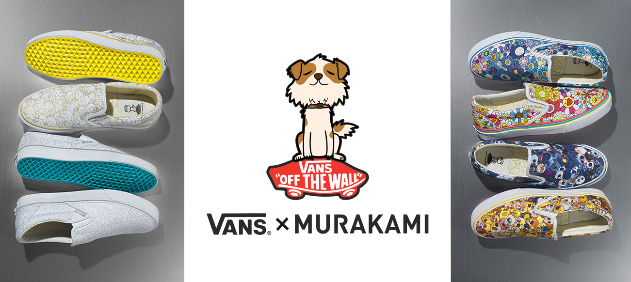 Eniwhere Fashion - Vans & Takashi Murakami slip-on