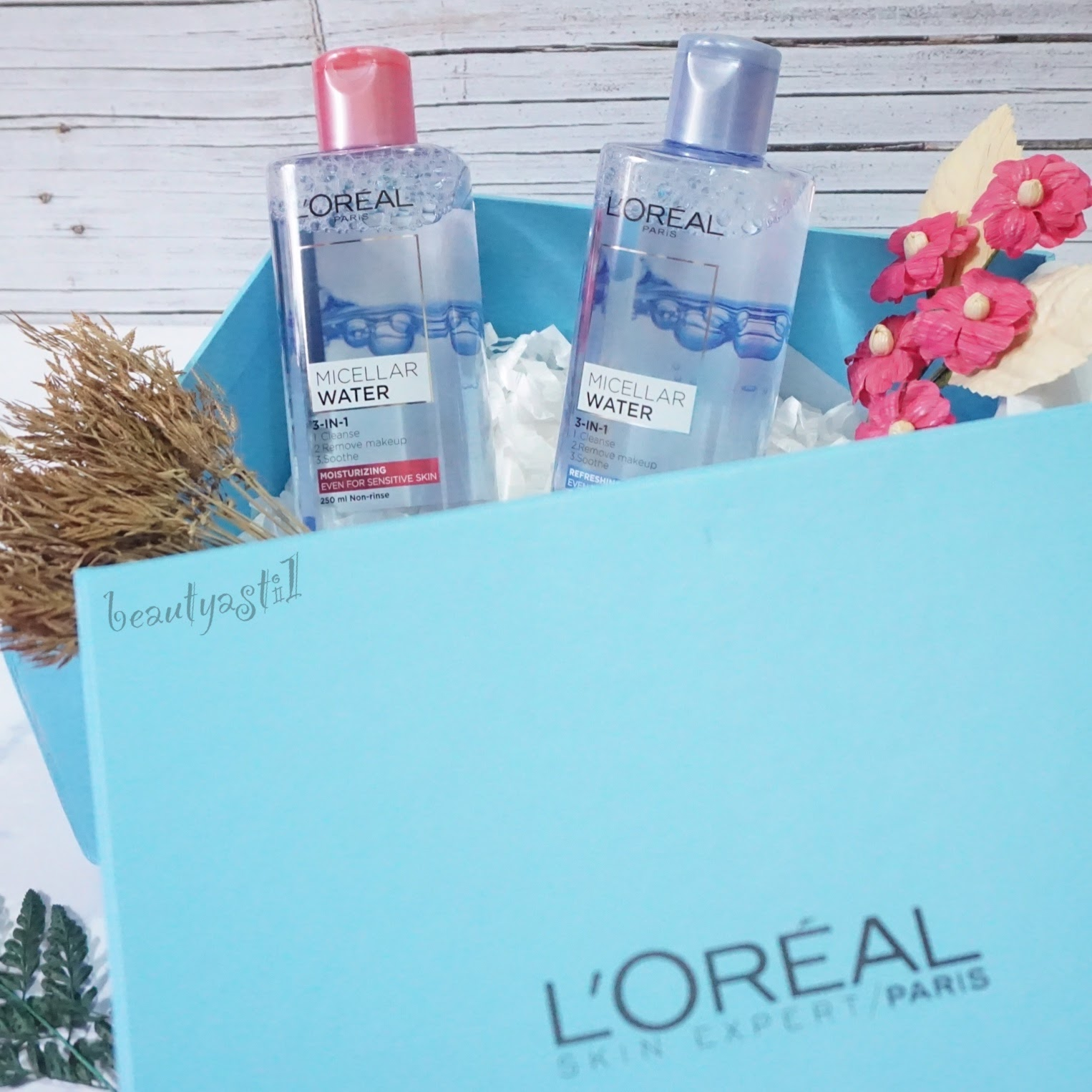 Loreal Paris Micellar Water Review Beautyasti1 L Oreal Makeup 250ml Blue Pink And
