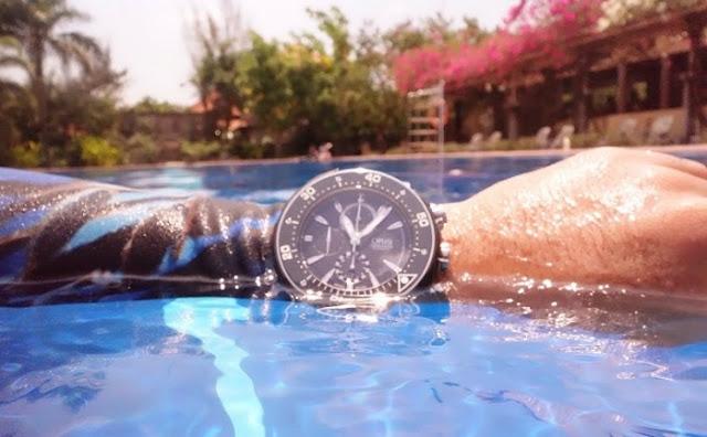 Đồng hồ Oris Pro Diver có khả nặng chống nước tốt