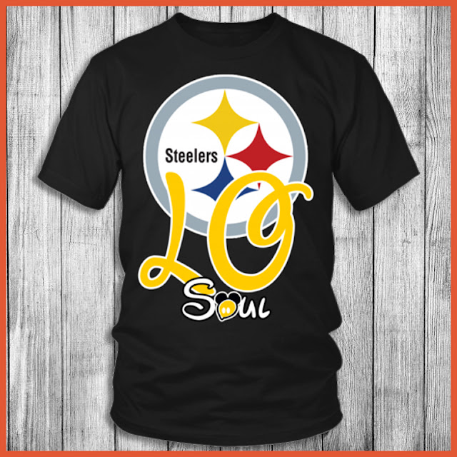Pittsburgh Steelers Soulmate Love T-Shirt