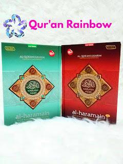 jual al-quran al-haramain, jual al-quran tazkiyatun nafs, jual al-quran haramain, jual al-quran al-haramain terjemah dan tajwid warna