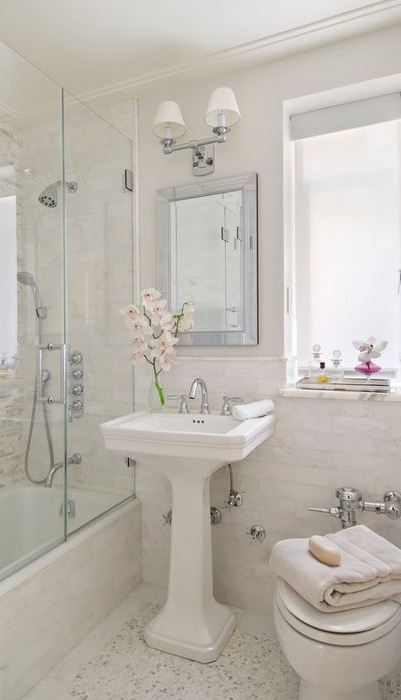 8 Ways To Make A Small Bathroom Look Big