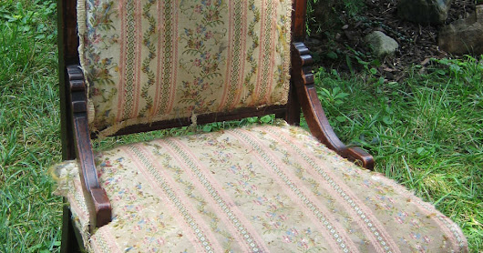 Recover a Victorian Chair