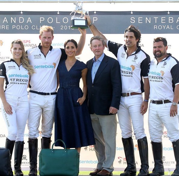 The Duke And Duchess Of Sussex Attend The Sentebale Polo